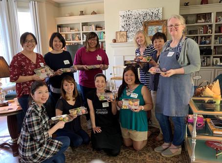和菓子教室 (Japanese sweets lesson) 4/27/2019