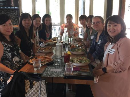 ランチ会 (Lunch gathering in Addison) 7/6/2018