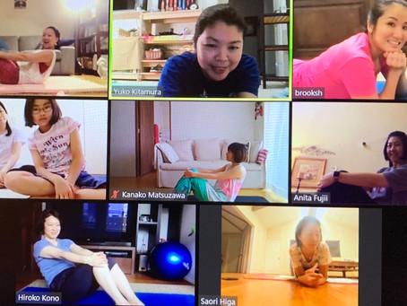 バーチャルピラティス (Virtual Pilates Lesson) 05/01/2020
