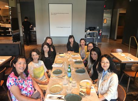 異業種交流会ランチ (Networking Lunch among different industries) 06/28/2019