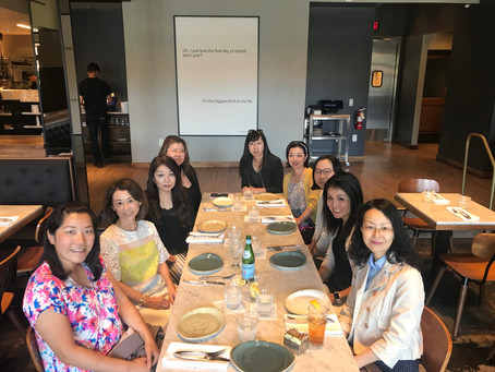 異業種交流会ランチ (Networking Lunch among different industries) 06/28/2019