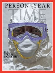 An Evening with Dr. Jerry Brown, Ebola Fighter and Time Magazine's 2014 Person of the Year