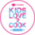 Kids love to cook - white circle for web