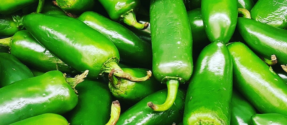 J is for jalapenos...