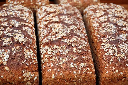 Dinkel-Hafer-Brot außer Samstag