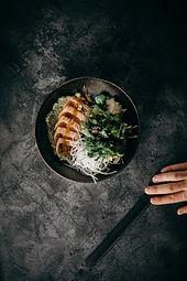 Stock image, Pan-Asian dish