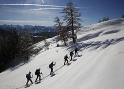 Schneeschuhwanderung, Naturerlebnis,