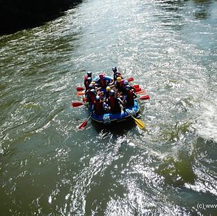 Bootsfahrt am steirischen Amazonas