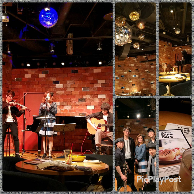 HANDS EXPO CAFE COLLABORATION CONCERT