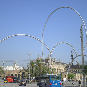at the waterfront in Barcelona.JPG