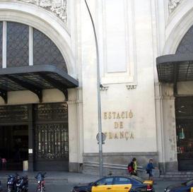 Barcelona train station front by Monty.j