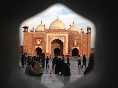 Taj Mahal Mosque, Agra, India 2017
