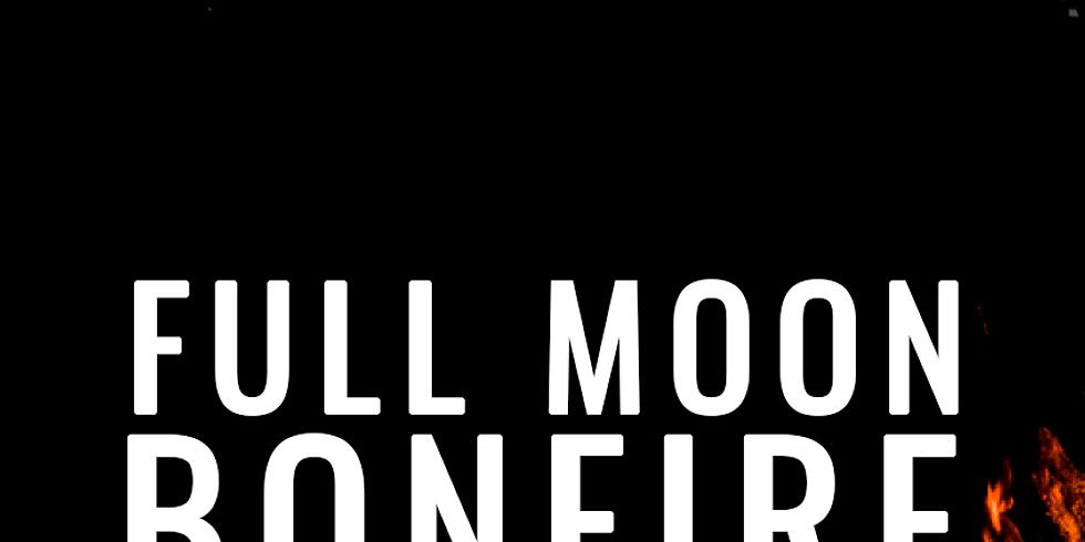 Full Moon Spring Equinox Bonfire