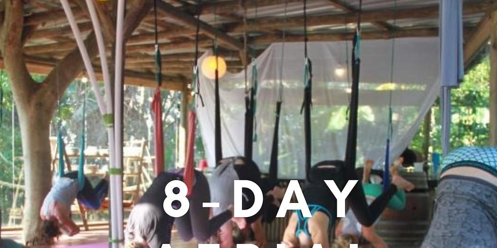 Aerial Yoga Hammock | 8 Day Retreat