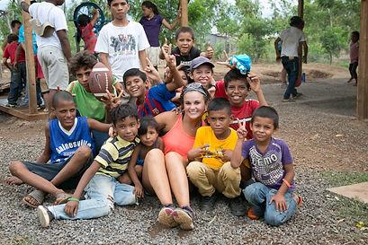 Nicaraguan children love visiting mission teams