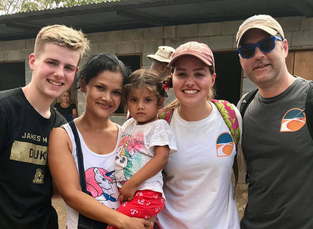 My heart is for Nicaragua, I knew how much people needed homes there. It was what I had to do.