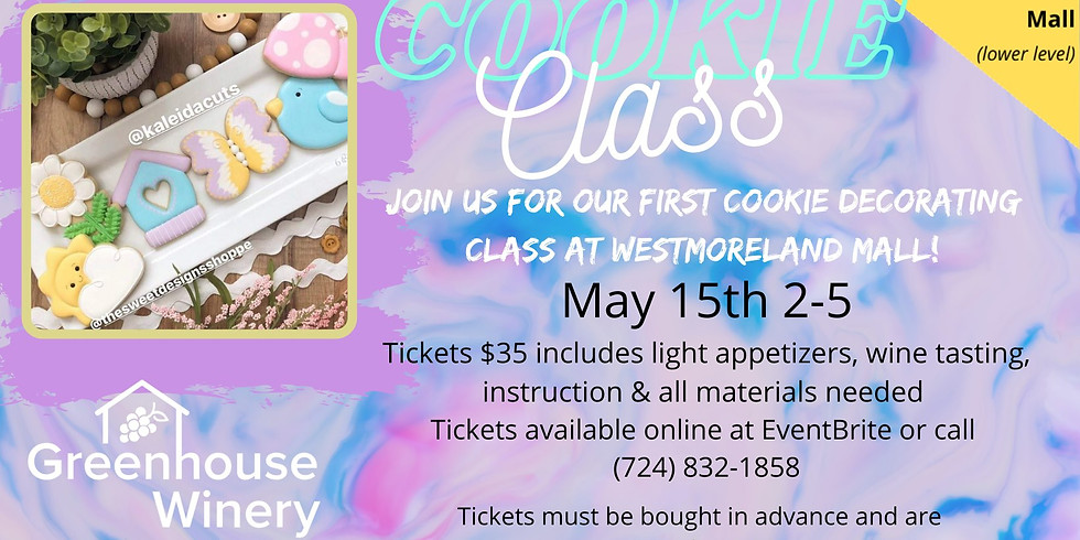 Cookie Class at Westmoreland Mall