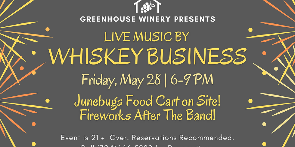 Whiskey Business at Greenhouse Winery