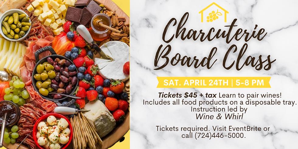 Charcuterie & Wine Pairing Workshop
