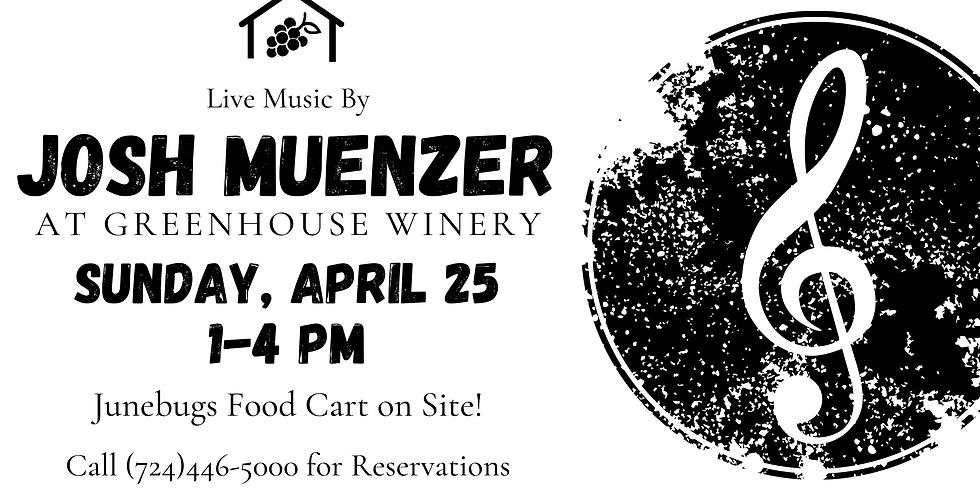 Josh Muenzer at Greenhouse Winery