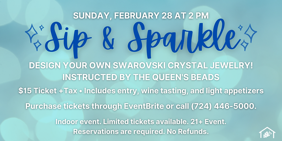 Sip & Sparkle: NEW DATE