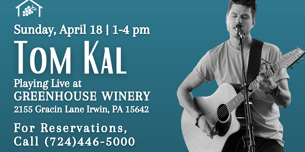 Tom Kal at Greenhouse Winery