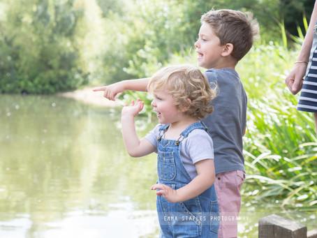 Green Dappled Adventures | Family Photoshoot | England