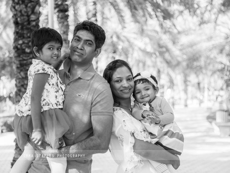 ONE Day In The Park | Family Photoshoot | Dubai