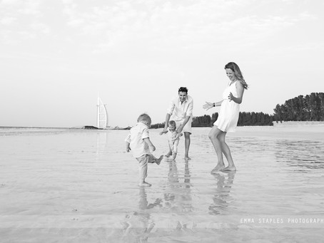 Winter Is Here! | Family Location Photoshoots in the UAE