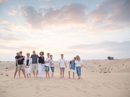 Desert Winters   Family Photoshoot   Dubai
