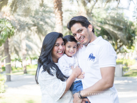 Family G | Family Photoshoot | Dubai