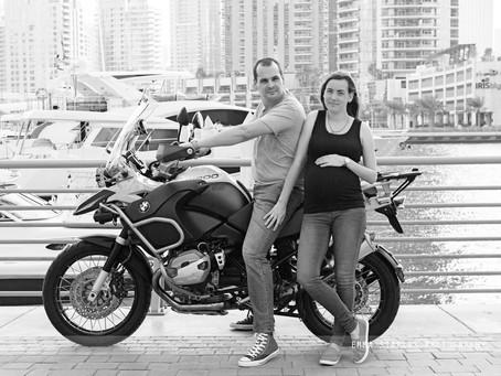 Bikes & Babies | Maternity Photoshoot | Dubai