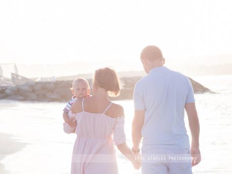 Sunset Strolls | Family Photoshoot | Dubai