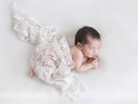Wrapped Up In Lace | Newborn Photoshoot | Dubai