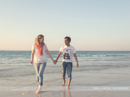 Sandy Toes & Starfish | Couple Photoshoot | Dubai