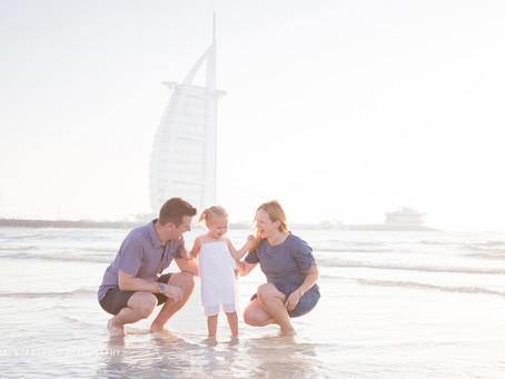Seaside Smiles | Family Photoshoot | Dubai