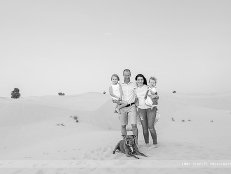 Sandy Adventures | Family Photoshoot | Dubai