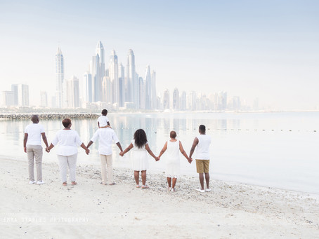 Beach Skylines | Family Photoshoot | Dubai