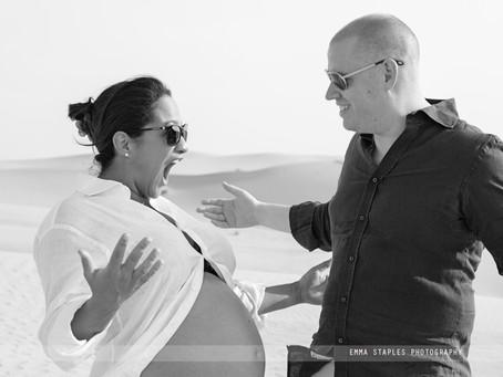 Sandy Bumps | Maternity Photoshoot | Dubai