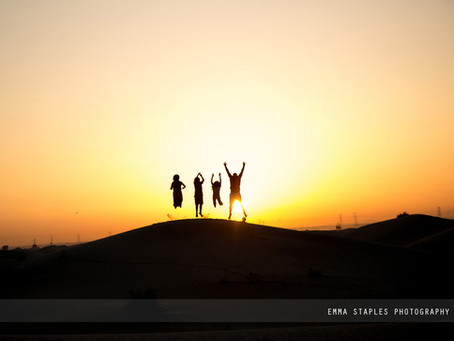 Sun Salutations | Family Photoshoot | Dubai