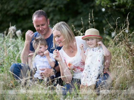 Messing Around In A Meadow | Family Photoshoot | Essex