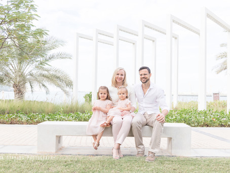 Bench Life | Family Photoshoot | Abu Dhabi