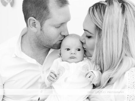Cuddles and Milk | Newborn Photoshoot | Abu Dhabi