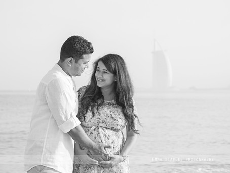 Beach Bump | Maternity Photoshoot | Dubai