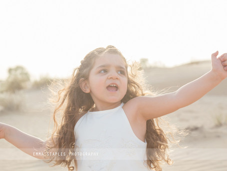 Sunshine Curls | Family Photoshoot | Dubai