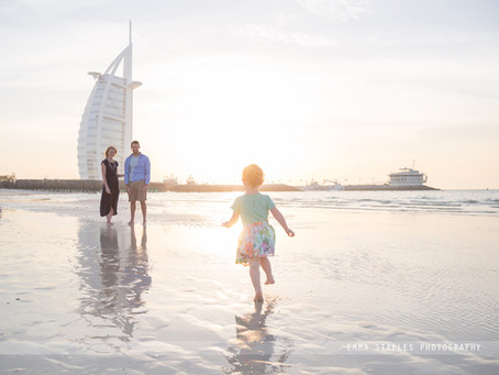 Sandy Splashes | Family Photoshoot | Dubai