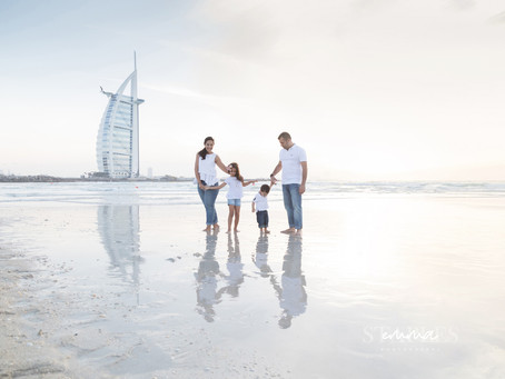 Family K | Family Photoshoot | Dubai