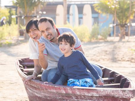 Knights By The Sea | Family Photoshoot | Dubai