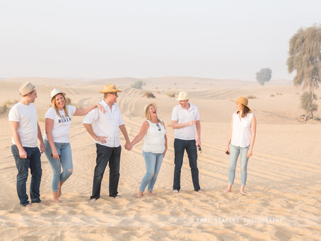 Dawn Capers | Family Photoshoot | Dubai