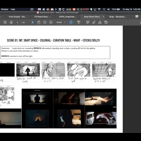 The Value of Pre-Visualization & Storyboards!